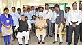 The Prime Minister, Shri Narendra Modi in a group photo with the students, in Livelihood College, in Dantewada, Chhattisgarh on May 09, 2015. The Chief Minister of Chhattisgarh, Dr. Raman Singh is also seen.jpg