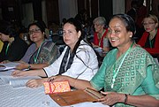 The Speaker, Lok Sabha, Smt. Meira Kumar attending the Commonwealth Women Parliamentarians (CWP) Business Meeting with other Indian delegates, in Nairobi, Kenya on September 17, 2010.jpg