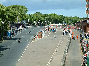 TT Grandstand - Image: The TT Grandstand Area Isle of Man geograph.org.uk 31739