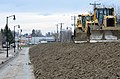 The U.S. Army Corps of Engineers (USACE) completed a temporary emergency levee near the city hall along 2nd Street in Fargo, ND, Apr. 29, 2013 (Pic 2).jpg