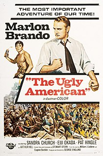 <i>The Ugly American</i> (film) 1963 film by George Englund