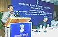 """The Union Minister for Tribal Affairs Shri Jual Oram speaking at a ConferenceWorkshop on """"New Scheme for Promotion of Tribal Culture"""" in New Delhi on December 20, 2003.jpg"""