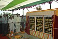 The Union Minister of Shipping, Road Transport & Highways Shri T.R.Baalu Laying foundation stone of a Trade Complex at Paradip Port Trust on November 11, 2005.jpg