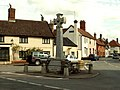The War Memorial at the centre of Stanton village - geograph.org.uk - 536320.jpg