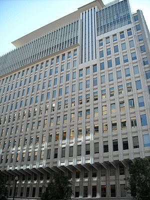 The World Bank Group building in Washington, D.C.