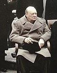 The Yalta Conference, Crimea, February 1945 (Churchill detail).jpg