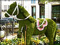The beautiful Dorchester Hotel in London Mayfair, England United Kingdom. One of the most recognized and luxurious hotels on the planet. Enjoy! ) (4579370953).jpg