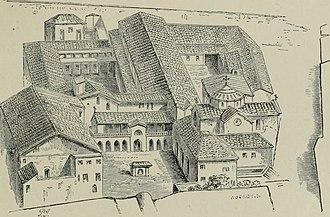 San Lorenzo, Venice - San Lorenzo as it was in the 15th century