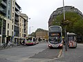 The bus lanes on the centre (8123200965).jpg