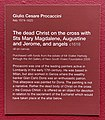 The dead Christ on the cross by Giulio Cesare Procaccini, Art Gallery of New South Wales 02.jpg