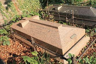Charles Fremantle - The grave of Charles Howe Fremantle, Brompton Cemetery, London