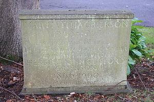 H. J. C. Grierson - The grave of Herbert John Clifford Grierson, Dean Cemetery