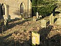 The graveyard of St Wilfrid's Church - geograph.org.uk - 626836.jpg