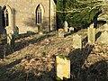 The graveyard of St Wilfrid's Church - geograph.org.uk - 626836.jpg