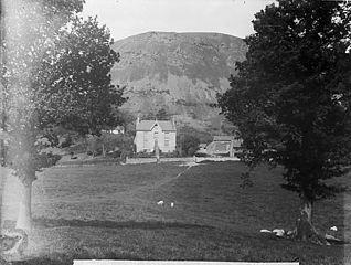 The house of Revd O Jones, Y Gelli, Llanfair Caereinion