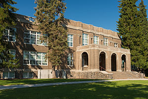 National Register of Historic Places listings in Deschutes County, Oregon - Image: The old Bend High School building in Bend, Oregon