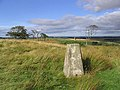 The trig point north of White House - geograph.org.uk - 542564.jpg