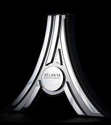 The trophy presented at the 2012 Atlanta Sports Awards..jpg