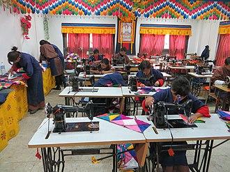 Vocational school - Royal Textile Academy of Bhutan, Thimphu city