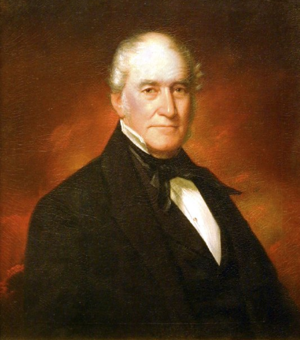 Thomas Bennett Jr. - Portrait by William Harrison Scarborough