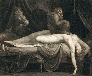 The Nightmare - Thomas Burke's 1783 engraving of The Nightmare