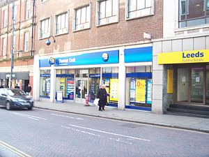Thomas Cook & Son - A modern Thomas Cook travel agency in Leeds.