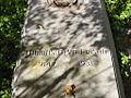 Thomas Edison National Historical Park - Edison's grave 1.jpg