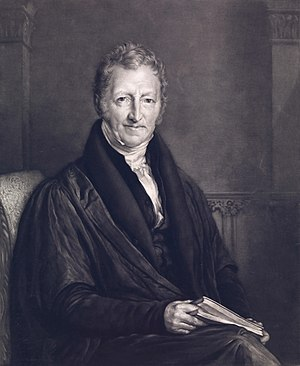 Population ecology - Thomas Robert Malthus