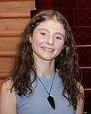 Thomasin McKenzie, actriz nacida el 26 de julio del 2000.