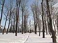 Through the snow to the church (4386499843).jpg