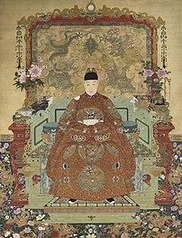 Tianqi, quinzième empereur de la dynastie Ming. (définition réelle 2206×2875)