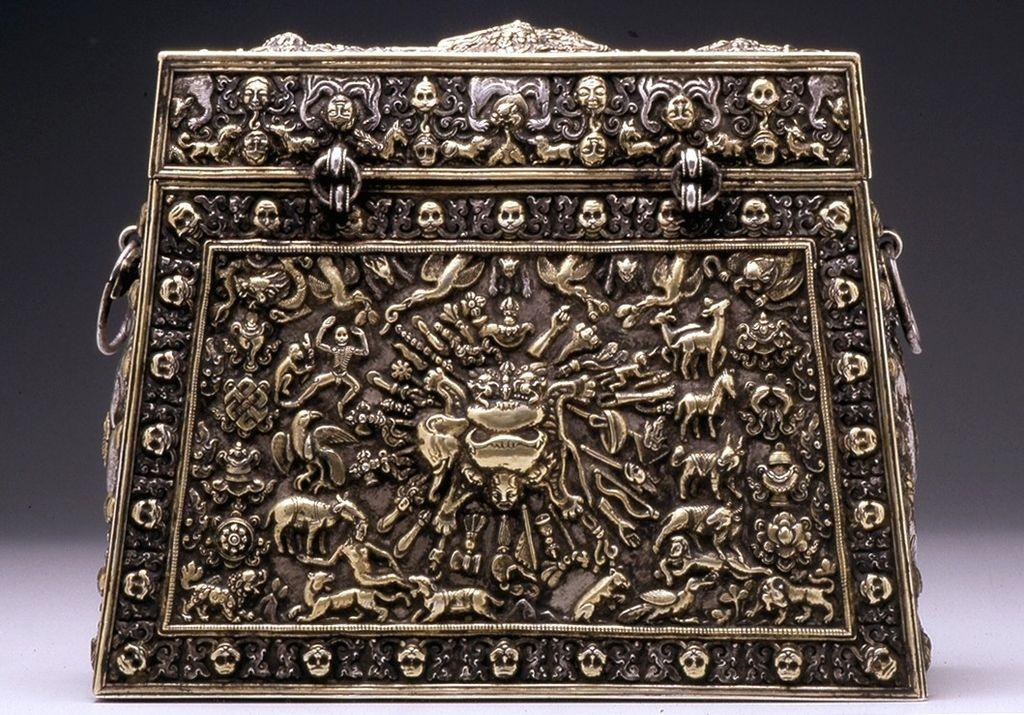 Tibetan - A Ritual Box - Walters 572299 - Reverse.jpg