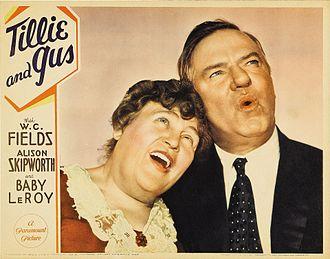 Tillie and Gus - lobby card.