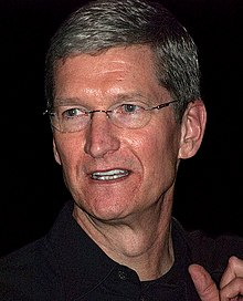 Tim Cook 2009 Cropped  Tim Cook Resume