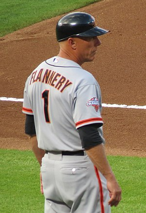 Tim Flannery (baseball) - Flannery with the San Francisco Giants
