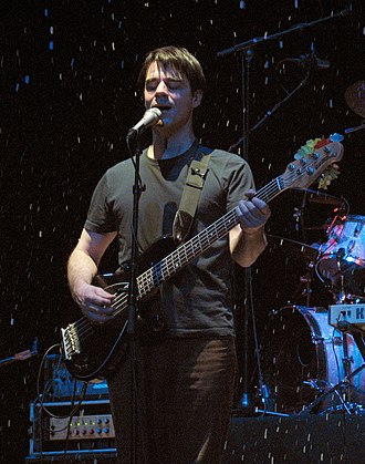 Tim Vesely - Vesely performing with the Rheostatics at Massey Hall 2007