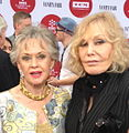 Tippi Hedren and Kim Novak 2014.jpg