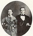 Titus and Fidelia Coan, c. 1853, daguerreotype by Hugo Stangenwald.jpg