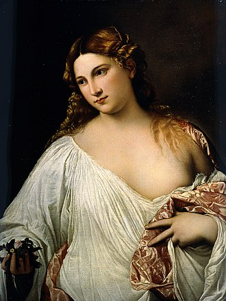 Flora (mythology) - Image: Tiziano Flora Google Art Project