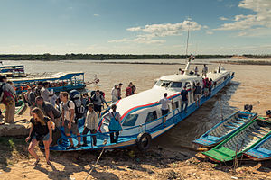 Tonle Sap boat