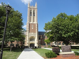 Topeka High School - Image: Topeka High School (EJS)