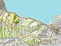 Topographic Map of Beppu-Oita, Japan.jpg