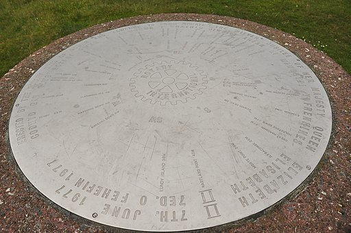 Toposcope on Cefn Bryn (5395)