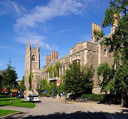 The University of Toronto has the largest student population of any university in Canada. Toronto - ON - Hart House.jpg