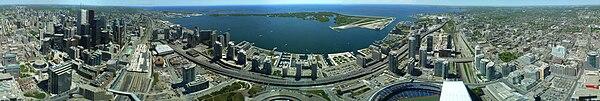 Toronto 360 degree panorama from CN Tower.jpg