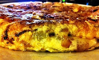 Spanish omelette - Tortilla with other ingredients