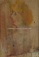 Toulouse-Lautrec - FEMME EN BUSTE (verso d'ETUDE D'HOMME), 1882, MTL.90.jpg