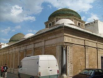 Tourbet el Bey - Western facade of the mausoleum