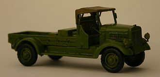 Toyota G1 - Scale model of a Toyota KC aircraft starter truck, minus the starting equipment.