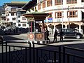 Traffic Point without signals in Thimphu.jpg